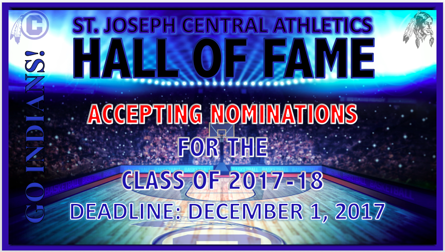 CHS ACCEPTING HALL OF FAME NOMINATIONS