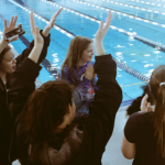 CHS Girls Swim Team Places Fourth at Suburban Conference Championships