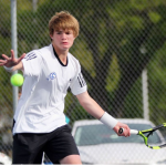 Cole Hopkins Stamps His Ticket to State Tennis Tournament