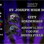 2017 ST. JOSEPH CITY FOOTBALL SCRIMMAGE