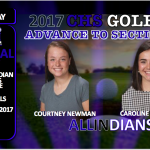 CENTRAL GOLFERS ADVANCE TO SECTIONALS