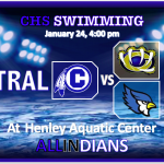CHS SWIMMING TRAVELS TO WILLIAM CHRISMAN