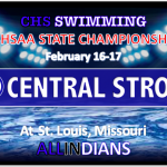 CENTRAL SWIM AT STATE CHAMPIONSHIPS