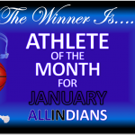 AJ REDMAN NAMED ATHLETE OF THE MONTH