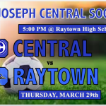 Central Soccer Heads to Raytown