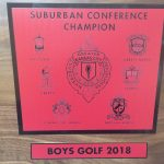 INDIANS GOLF WINS CONFERENCE CHAMPIONSHIP