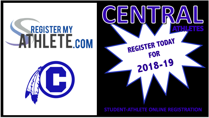 CENTRAL ADDS NEW ONLINE ATHLETE REGISTRATION PROCESS