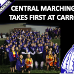 CENTRAL BAND PLACES FIRST AT CARROLLTON FESTIVAL