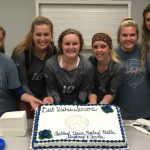 Central Girl's Varsity Volleyball beats Liberty North 2 – 1 on Senior NIght