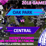 CLASS 5 DISTRICT 8 PLAYOFF GAME AT CHS