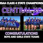 CENTRAL XC COMPLETES BANNER SEASON AT STATE
