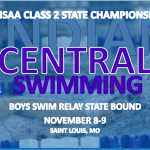 STATE BOUND INDIANS SWIM RELAY MAKES IT BACK-TO-BACK