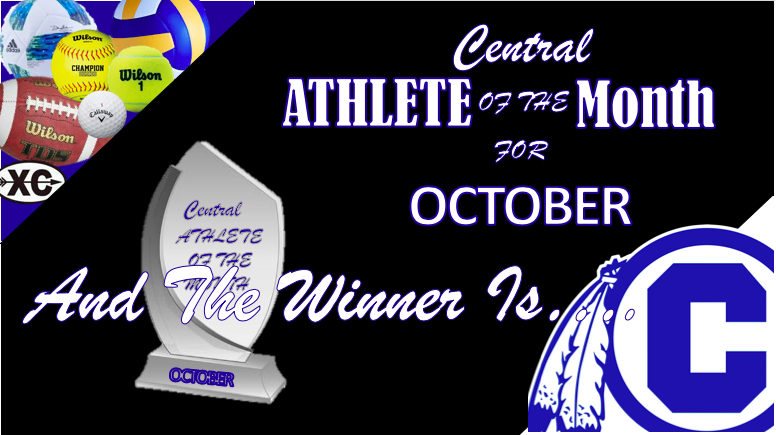 INDIANS NAME OCTOBER ATHLETE OF THE MONTH