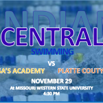 CENTRAL LADY INDIANS SWIM OPENS AT MWSU