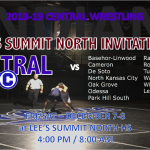 CENTRAL WRESTLING HEADS TO LEE'S SUMMIT NORTH INVITATIONAL
