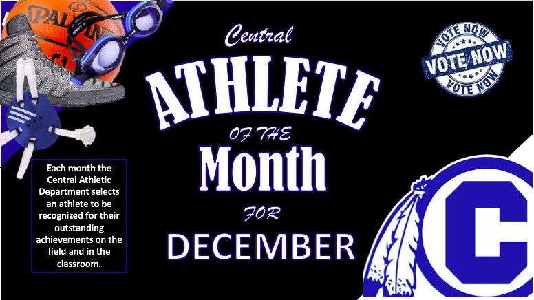 VOTE NOW for CHS DECEMBER Athlete of the Month