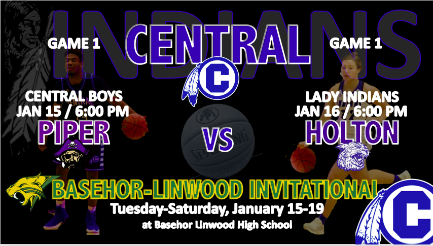 CENTRAL BASKETBALL TRAVELS TO BASEHOR INVITATIONAL