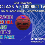 CENTRAL TO HOST BOYS CLASS 5 DISTRICT 16 BASKETBALL TOURNAMENT
