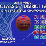 CENTRAL TO HOST GIRLS CLASS 5 DISTRICT 16 TOUNAMENT
