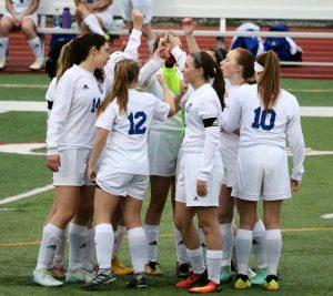 Girls Varsity Soccer vs. Truman 4/4/19