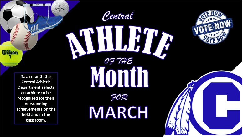 VOTE NOW FOR CHS ATHLETE OF THE MONTH FOR MARCH