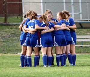 Girls Varsity Soccer vs. Staley 4/15/19