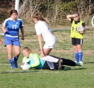 JV Girls Soccer vs Lee's Summit 3/26/19
