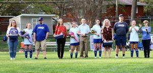 Senior Night Girls Varsity Soccer 4/24/19