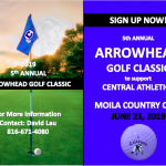 2019 ARROWHEAD GOLF CLASSIC (SIGN UP NOW)