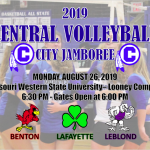 City VB TAKES CENTER STAGE