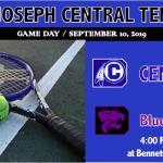 CENTRAL TENNIS VISITS BLUE SPRINGS