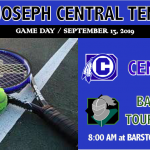 TENNIS AT BARSTOW INVITATIONAL