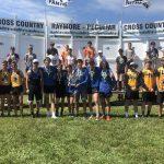 Boys Varsity XC finishes 1st place @ Ray-Pec