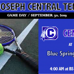 TENNIS SET FOR MATCH WITH BLUE SPRINGS SOUTH
