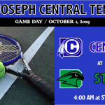 CENTRAL TENNIS VISITS STALEY