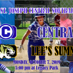 CENTRAL SOFTBALL AT LEE'S SUMMIT