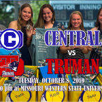 CENTRAL SOFTBALL HOSTS TRUMAN ON SENIOR NIGHT
