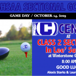CENTRAL GOLFERS ADVANCE TO STATE SECTIONALS