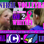 CENTRAL VOLLEYBALL PLAYING FOR WHITNEY