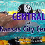 CENTRAL SWIM VISITS KC CENTRAL