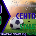 CENTRAL SOCCER FACES STALEY IN PIVOTAL CONTEST