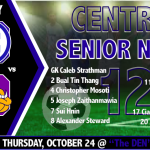 CENTRAL SOCCER HOSTS KEARNEY ON SENIOR NIGHT AT THE DEN