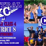 CENTRAL XC EYES ON DISTRICT 8 CHAMPIONSHIP