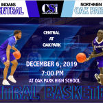 CENTRAL VISITS OAK PARK FRIDAY NIGHT