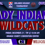 LADY INDIANS INVADE FLORIDA FOR CHRISTMAS