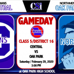 CENTRAL GRABS #4 SEED IN CLASS 5 DISTRICT 16