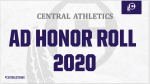 CENTRAL RECOGNIZES 317 STUDENT-ATHLETES ON ATHLETIC DIRECTORS HONOR ROLL