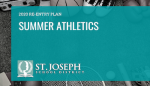 SJSD SUMMER ATHLETICS RE-ENTRY PLAN