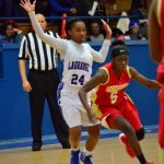 Hardaway High School Girls Varsity Basketball falls to La Grange High School 56-64