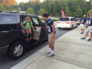 Wolverines start Homecoming at Elementary Schools by Coming Home on 9/18